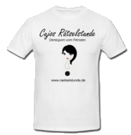 Rätselstunden-T-Shirt Questina